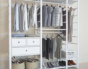 Elvarli collection wardrobe vray 3D model
