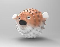 Blowfish 3D printable model