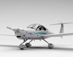 small HK36 TC115 Diamond Airplane 3D model
