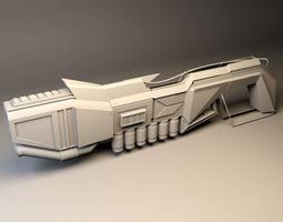 3D model anti-bio gun