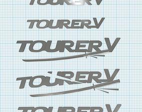 3D print model Tourer V label