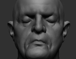 realistic Human Head 3D
