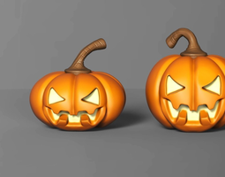 3D printable model Halloween Pumpkin