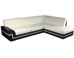 Sofa LUXEMBURG 3D