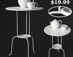 IKEA LINDVED Table 3D model