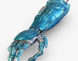 3D model Robot hand v 1