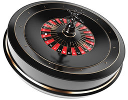 animated 3D Roulette Model luck