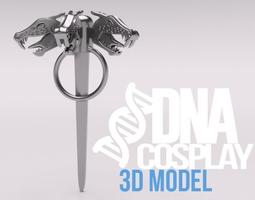 Daenerys Targaryen Three-headed Dragon 3D printable model