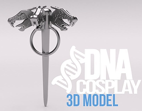 Daenerys Targaryen Three-headed Dragon 3D printable model