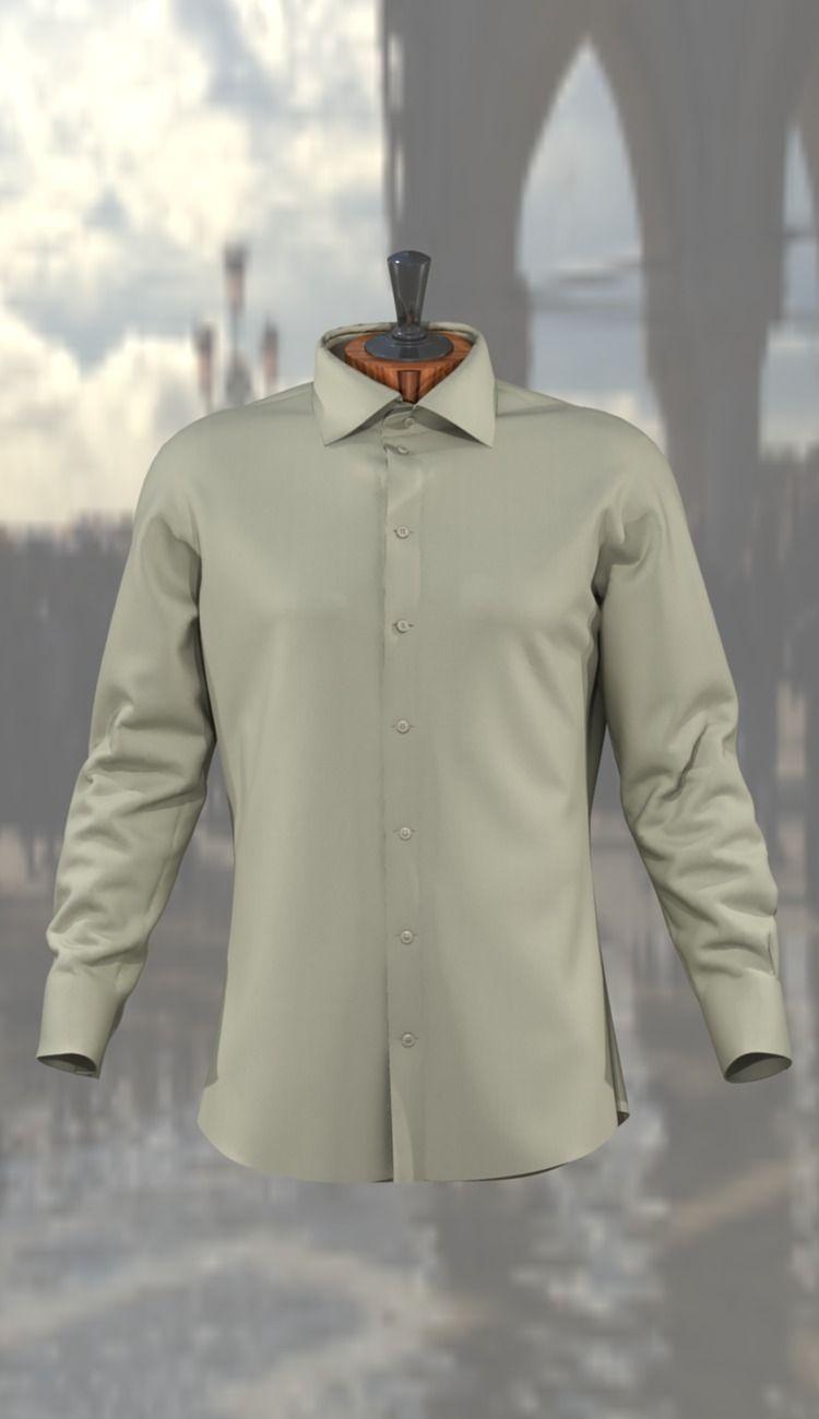 Man shirt 3D Model OBJ MA MB MTL | CGTrader.com