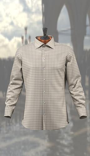 man shirt 3d model max obj ma mb mtl 1