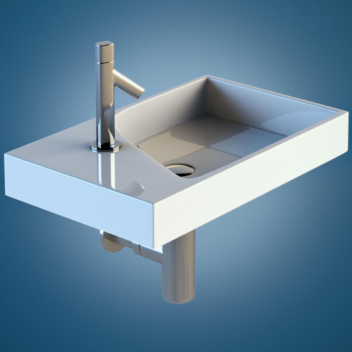 jacob delafon formilia rythmik 3d model max. Black Bedroom Furniture Sets. Home Design Ideas