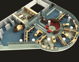 workshop 3D model Office
