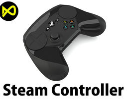 video-game Steam Controller 3D