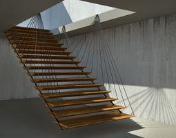3D Flying stair