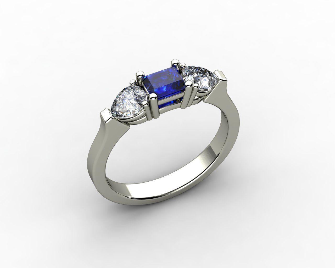 3D printable model Gold Ring Design | CGTrader