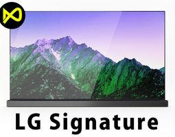LGLG Signature 4K TV OLED 65 Inch 3D