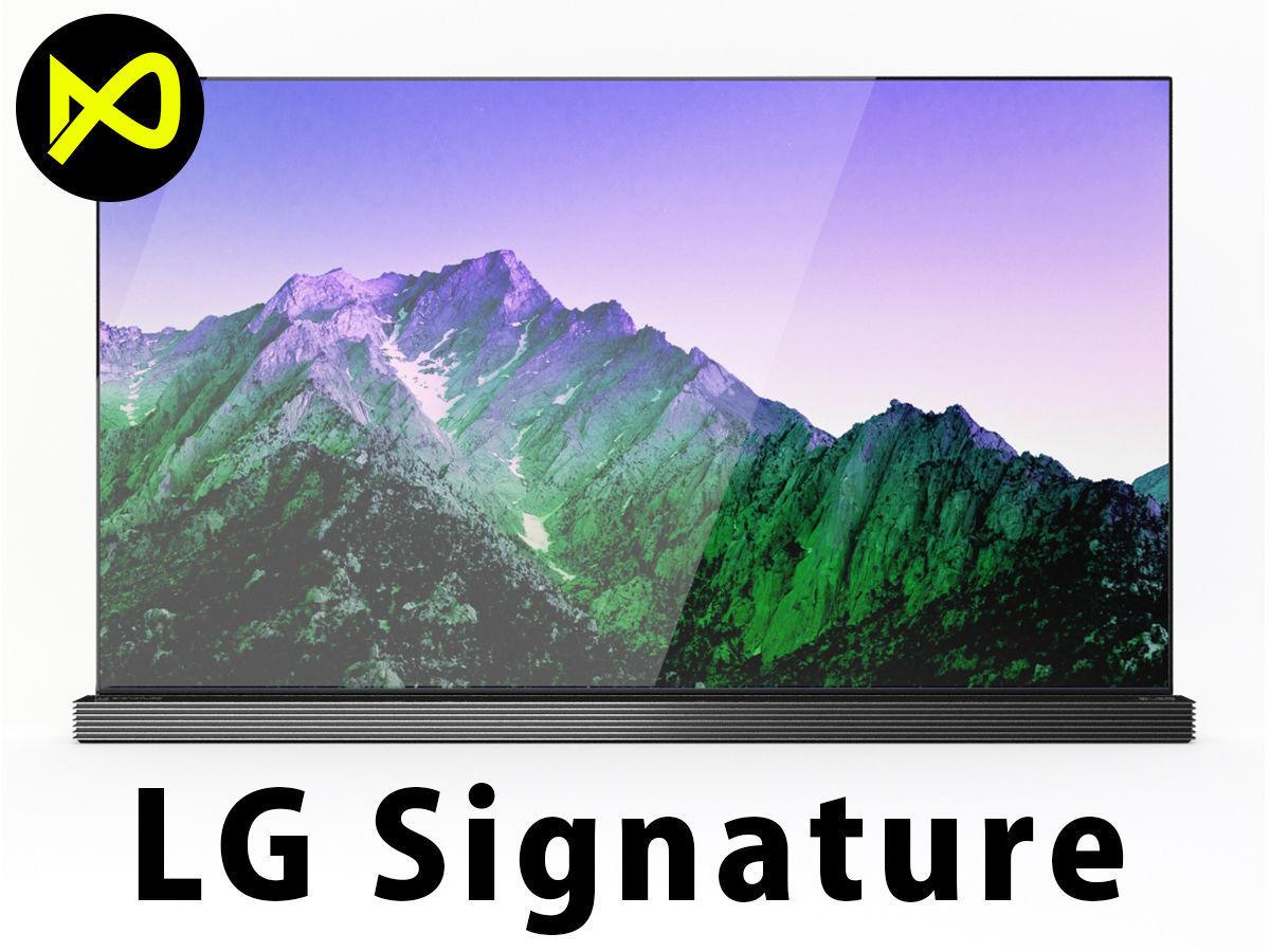 LGLG Signature 4K TV OLED 65 Inch