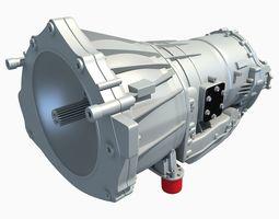 Allison Six Speed Automatic Transmission 3D model