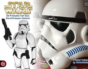 3D printable model Full Scale Stormtrooper Helmet wearable