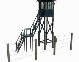 3D model Soviet tower