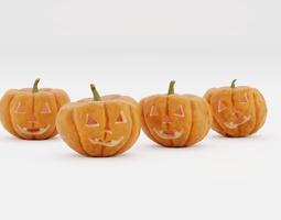 Jack-O-Lantern - Halloween Pumpkins for 3D Print