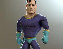 3D model Super Guy