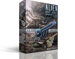 Alien Jockey Commemorative Bust Model