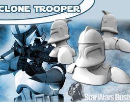 3D print model Clone Trooper Bust