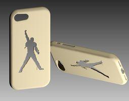 Freddie Mercury Iphone 7 Case 3D print model