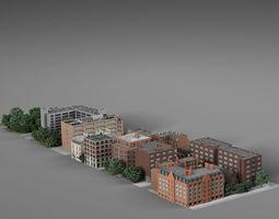 3D Quarter of the city v2