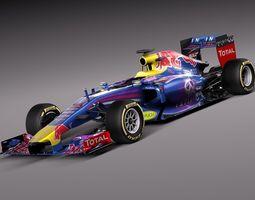 Formula 1 Infiniti RedBull 2014 3D Model