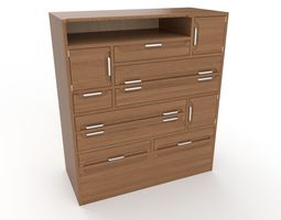 commode 9 3D