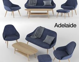 3D BoConcept Adelaide furniture collection
