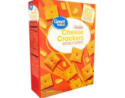 3D model Great Value Cheddar Cheese Crackers 12 oz