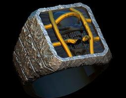 Ring Demon Liberation 3D print model