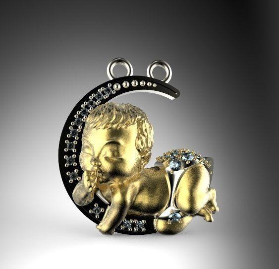 magerit my baby pendant