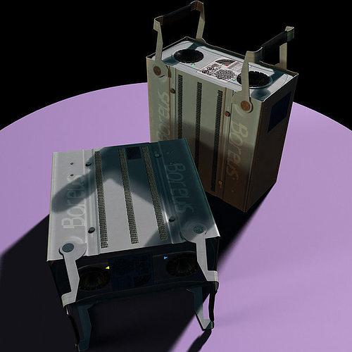 scientific rack harddrive 3d model max 1