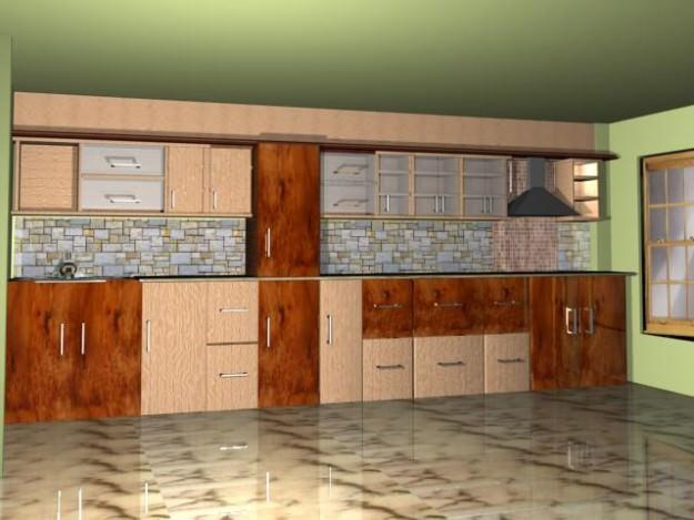 Kitchen 3d Model kitchen 3d model   cgtrader
