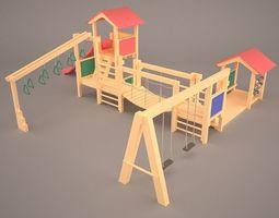 3D model toys Playground