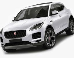 Jaguar E-pace 2018 3D model