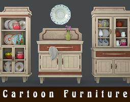 Cartoon Furniture 3D model