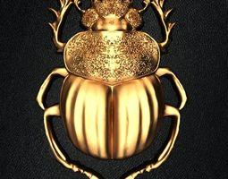 3D print model Beetle scarab sli