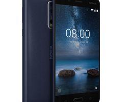Nokia 8 Tempered Blue 3D asset VR / AR ready