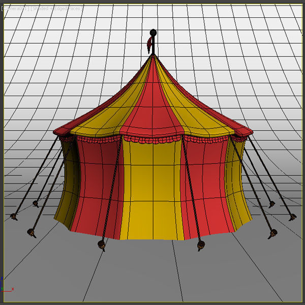 ... circus tent 3d model max obj fbx ma mb mtl 6 & Circus Tent 3D | CGTrader