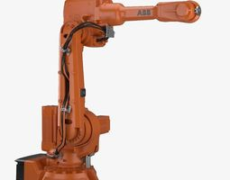 Industrial Robot ABB IRB 2600 3D model