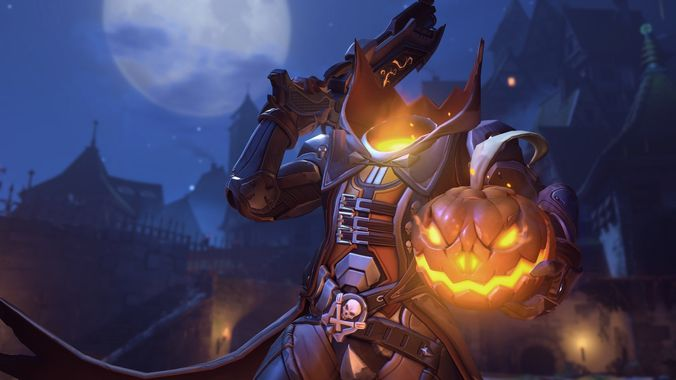 reaper pumpkin overwatch 3d model stl 1