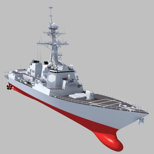 Arleigh Burke Class DDG3D model