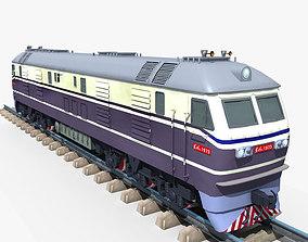 3D model Dongfeng 11 Diesel Locomotive