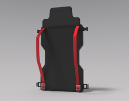 3D printable model product of bag